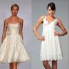 Короткое белое платье – всегда выигрышный вариант