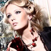 Красивый вечерний макияж для блондинок
