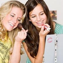 Модный макияж для подростков