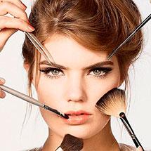 Фото: c чего начать нанесение вечернего макияжа для карих глаз