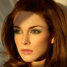 Фото: вечерний макияж для зеленых глаз