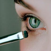 Фото: техника макияжа для зеленых глаз