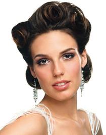 Греческий макияж скул