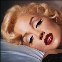 Гламурный макияж губ