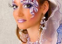 Составляющие фантазийного макияжа
