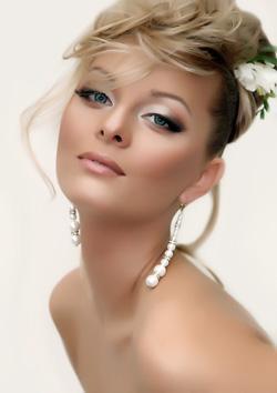 Вариант свадебного макияжа