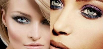 Красивый макияж для голубых глаз: описание плюс видео