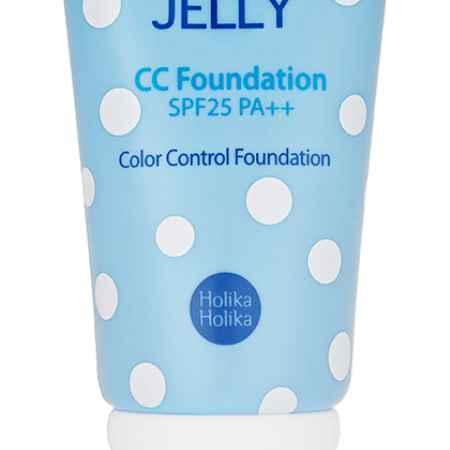 Купить Holika Holika Крем Aqua Petit Jelly CC Foundation (Цвет Gorgeos Beige)