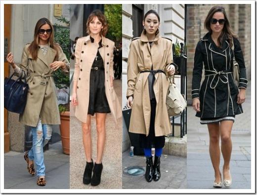 Женский плащ и модная индустрия