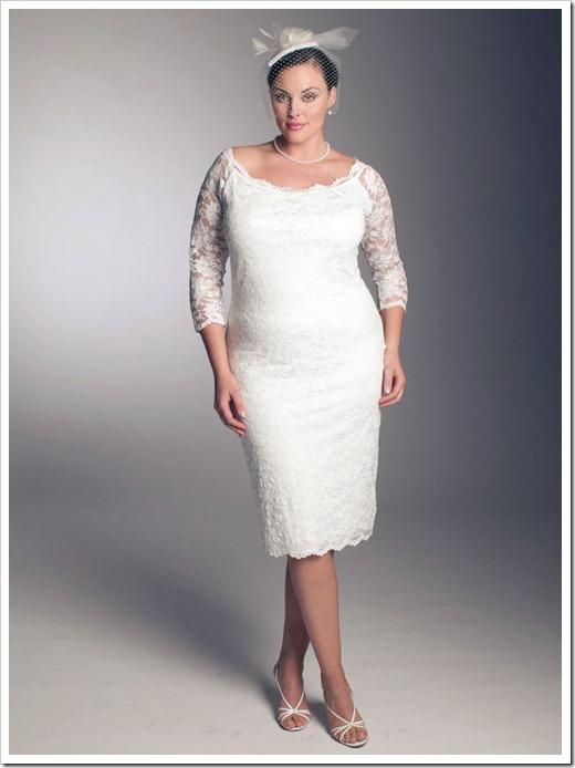 Как выбирать свадебное платье полным девушкам?