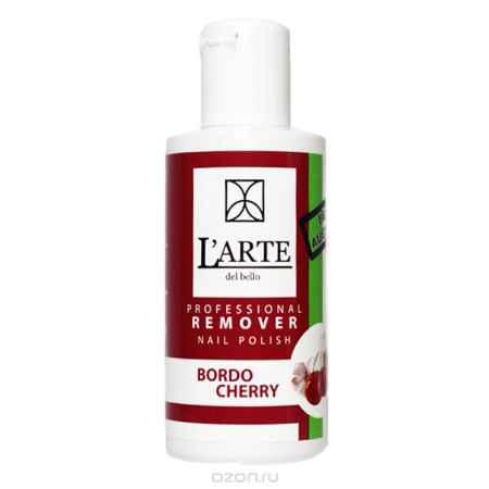 Купить L'arte del bello Жидкость для снятия лака с экстрактом Бордовой вишни, 75 мл
