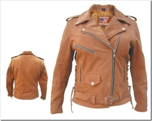 Различные варианты сочетания коричневой куртки