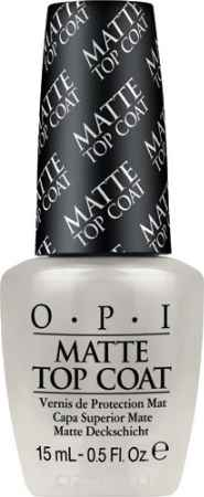 Купить OPI Верхнее покрытие для создания матового эффекта Matte Top-Coat, 15 мл