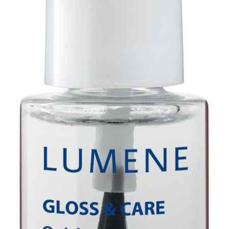 Купить LUMENE Быстросохнущее покрытие для закрепления лака Lumene Gloss & Care 3в1, 5 мл