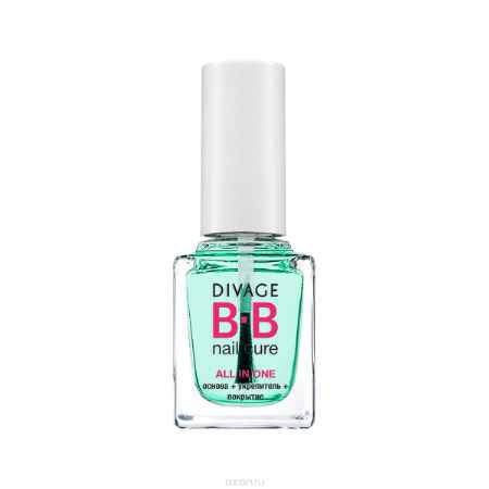Купить DIVAGE BB NAIL CURE Основа+Укрепитель+Покрытие для ногтей