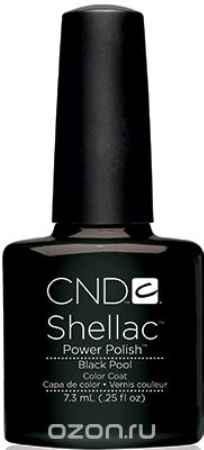 Купить CND UV Гелевое покрытие CND Shellac # 018 Black Pool, 7,3 мл