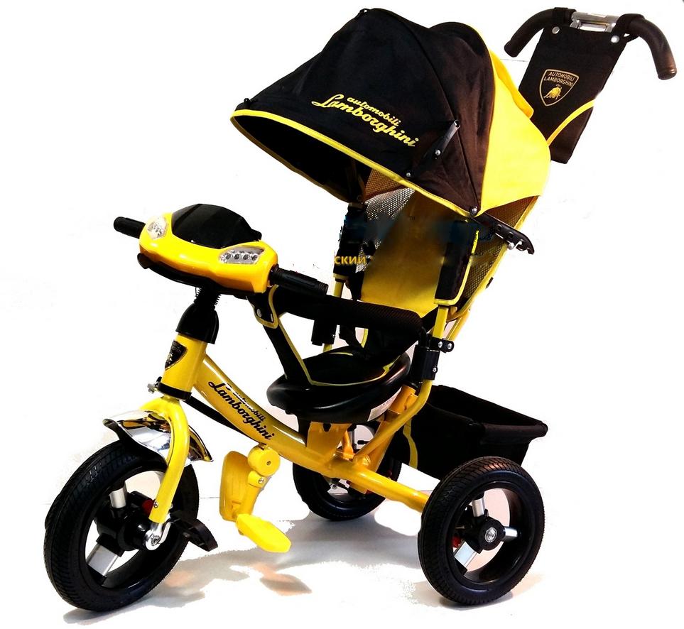 Трехколесный велосипед с родительской ручкой