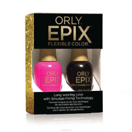 Купить Orly Набор для создания 2-х фазного эластичного покрытия EPIX Flexible Color Launch Kit - The Industry