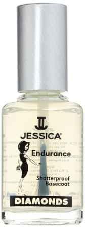Купить JESSICA Базовое покрытие с брилиантовым порошком DIMONDS Endurance 15 мл