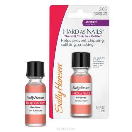 Купить Sally Hansen Средство для укрепления ногтей, тон: Natural Tint, 13,3 мл