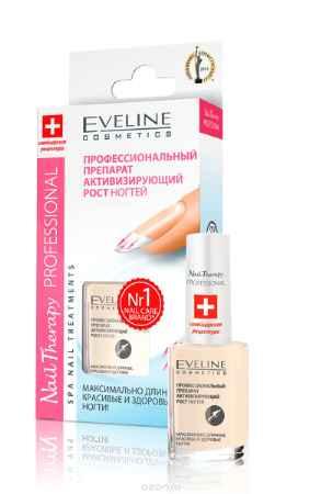 Купить Eveline Nail Therapy Professional Профессиональный препарат, активизирующий рост ногтей 12мл