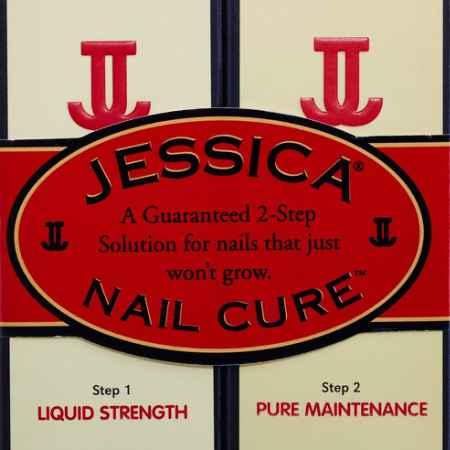 Купить Jessica 2-х ступенчатое средство для ухода за ногтями Nail Cure Twin-Pack (LiquidStrength Жидкий укрепитель + Pure Maintenance Чистый увлажнитель) 2 х14,8мл