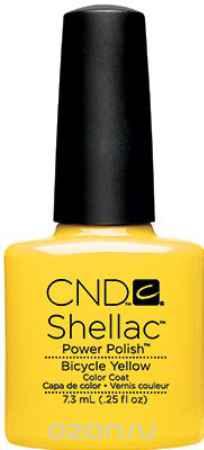 Купить CND UV Гелевое покрытие Shellac Paradise # 90513 Bicycle Yellow, 7,3 мл