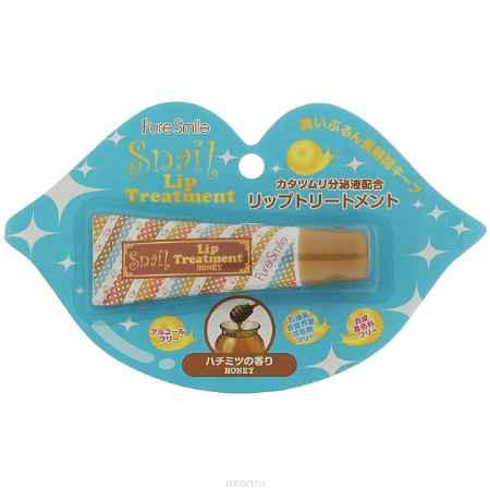 Купить Pure Smile Омолаживающий бальзам для губ с эссенцией улитки и экстрактом меда 10гр