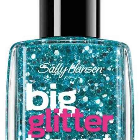 Купить Sally Hansen Nailcare Верхнее покрытие для создания мерцающего эффекта big glitter top coat тон 120, 14,7 мл