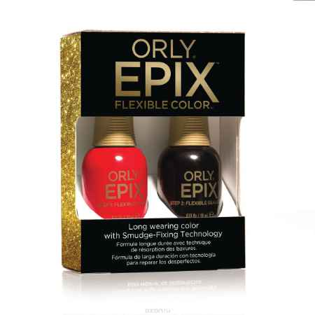 Купить Orly Набор для создания 2-х фазного эластичного покрытия EPIX Flexible Color Launch Kit - Spoiler Alert