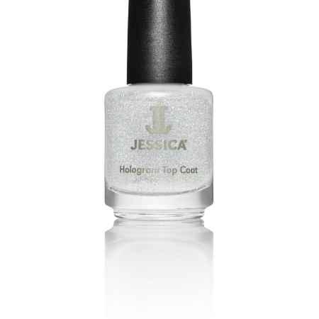 Купить Jessica Голографический закрепитель лака № 601 Hologram Top Coat Silver 14,8 мл