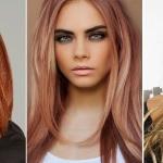 Какие цвета волос в моде в 2015 году