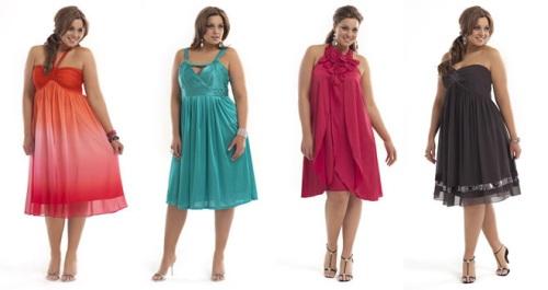 Какую одежду носить летом полным девушкам