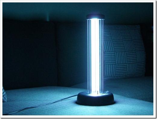 Принцип работы бактерицидных ламп