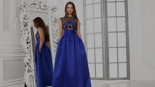 Как сшить вечернее платье