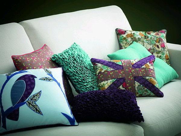 Дизайн на подушки своими руками 57