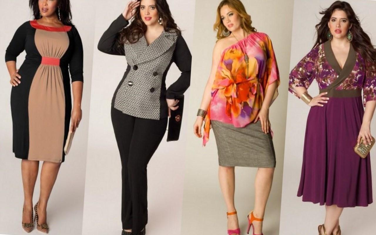Стильная Одежда Для Полных Женщин После 50