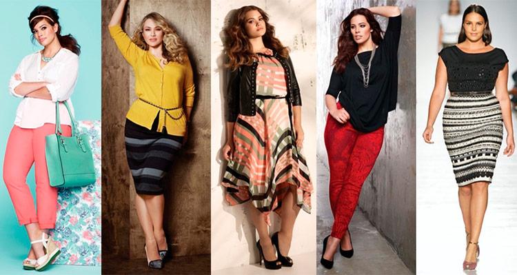 Как подобрать одежду для полных  Советы по подбору одежды большого размера