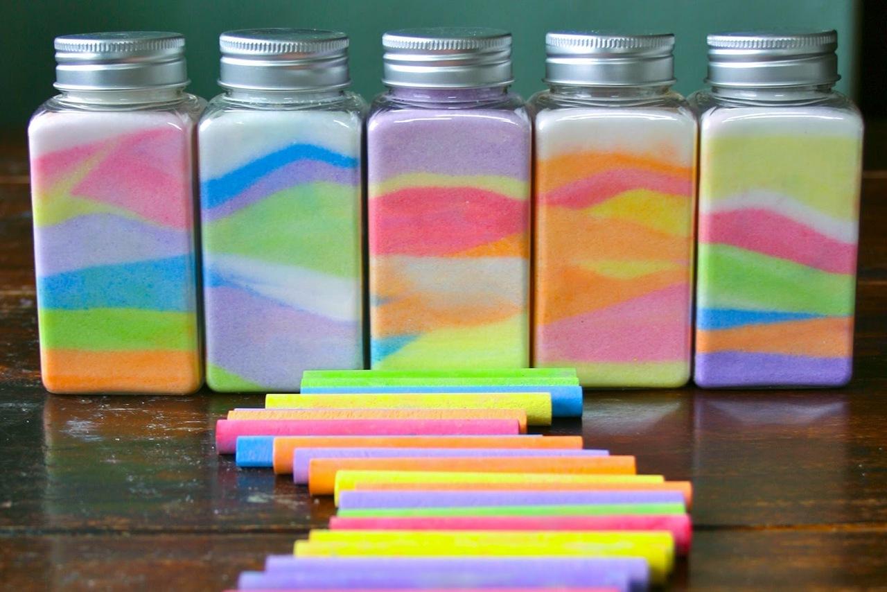 Бутылки с солью