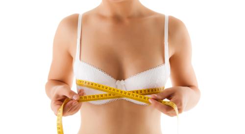 Как увеличить грудь