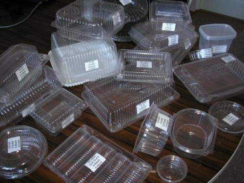 Одноразовые пластиковые контейнеры