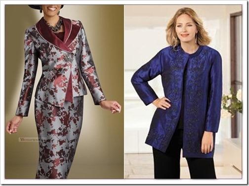 Нарядные женские костюмы для полных женщин
