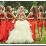 Цвет для подружек невесты