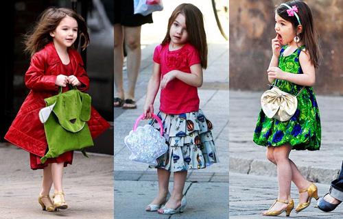 Девочка в туфлях