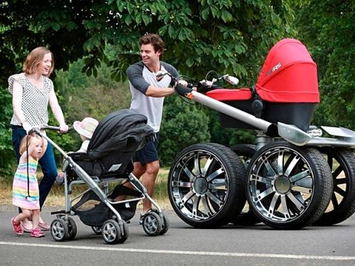 Виды детских колясок
