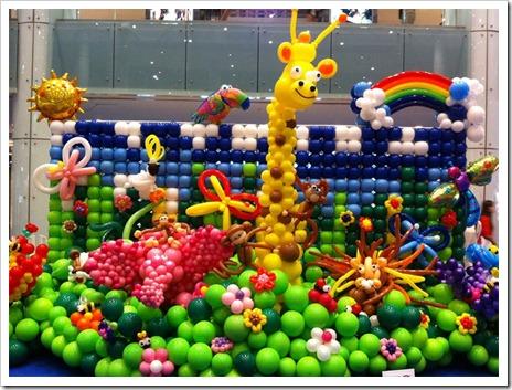 Украшение праздника при помощи шаров