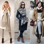Как завязывать шерстяной шарф