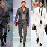 Как носить мужской костюм