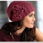 вязаные женские шапки для любого возраста