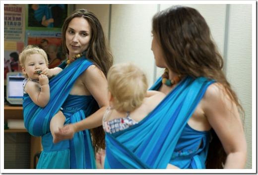 Опасность, которая подстерегает новорожденного ребёнка в неправильно завязанном слинге